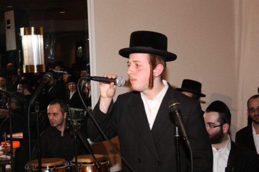 Sruli Green [LIPA'S nephew] sings new song for Yossi Stendig's wedding