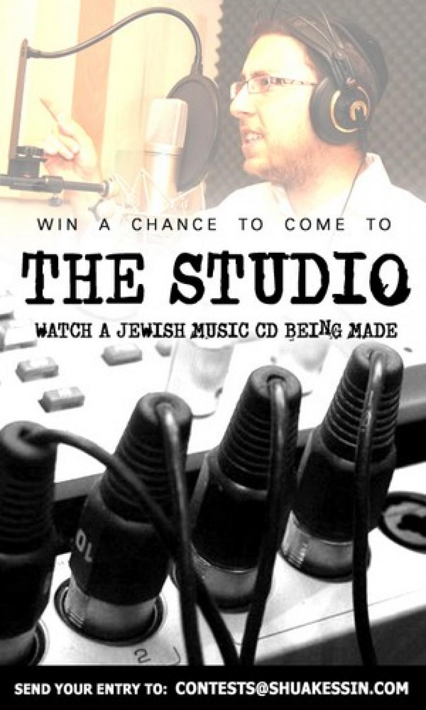 Come See Shua Kessin Record Live in the Studio!