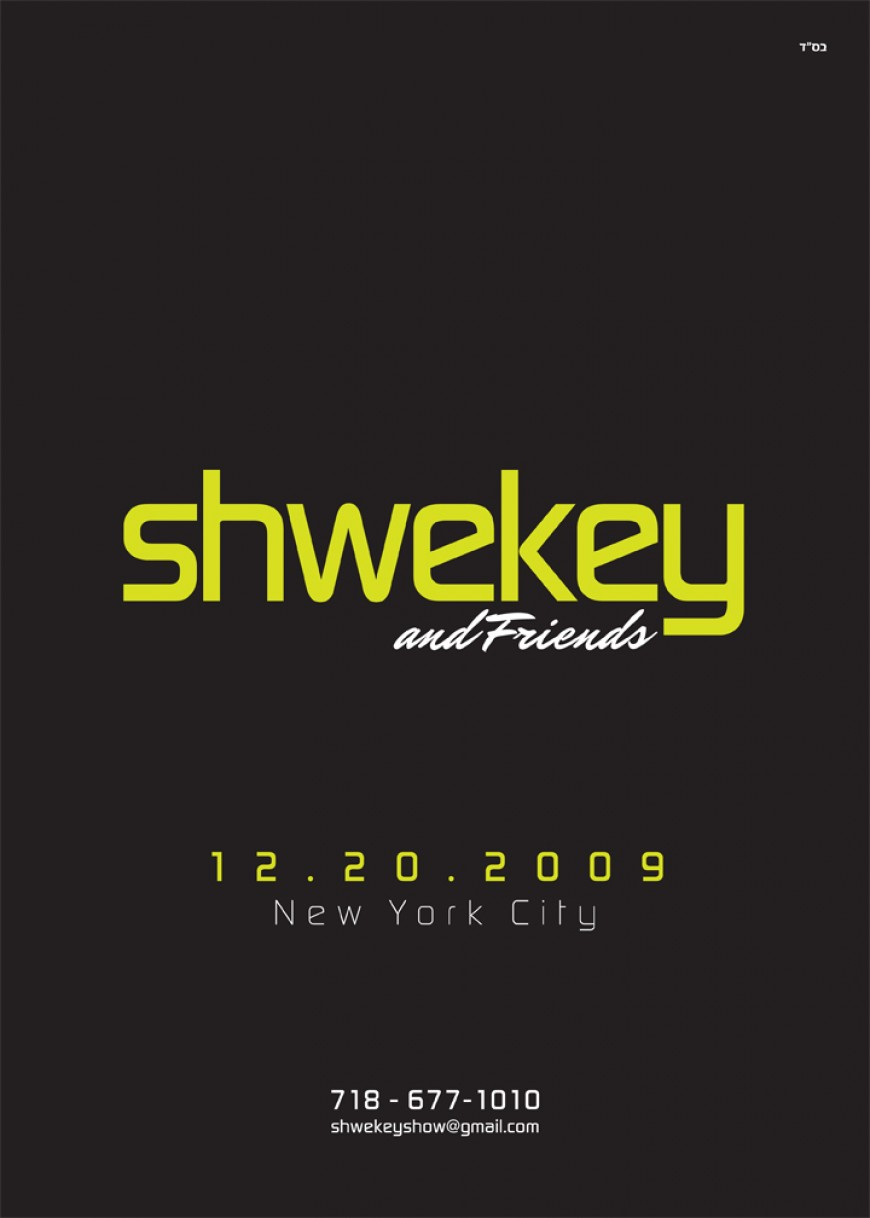 SHWEKEY & FRIENDS DATE ANNOUNCED!