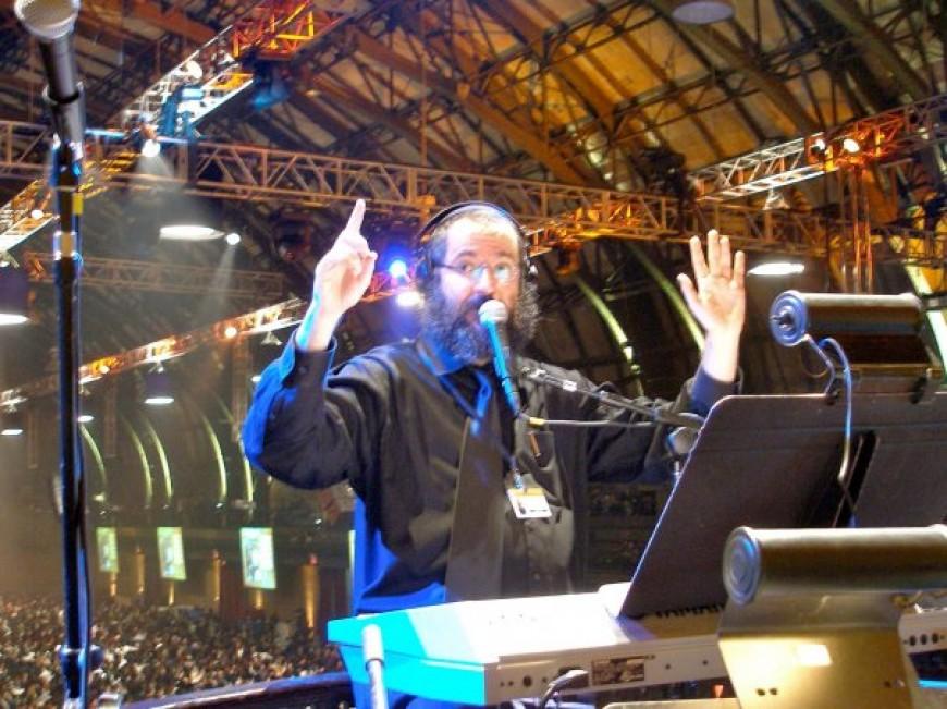 Avremi G at the Shluchim Conference 11/15/09
