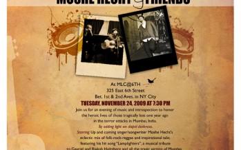 Mumbai memorial concert by Moshe Hecht & Friends