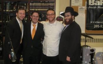 Shloime Kaufman, Yonatan Shlagbaum, Daniel Bukingolts and Yacov Young @ YU Chagiga