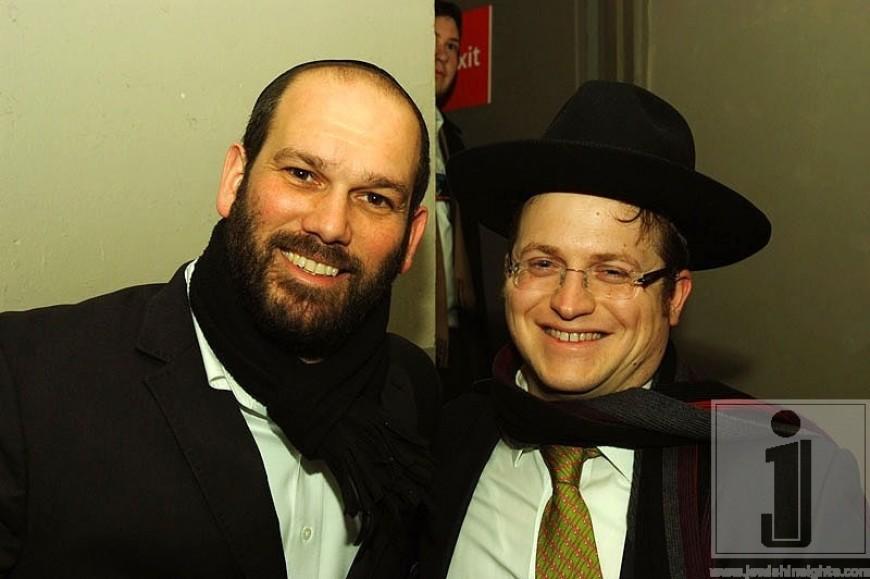 Yonatan Razel & Baruch Levine after the show