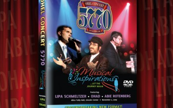 Coming Soon: Ohel 5770 ON DVD, CD and Digital Download