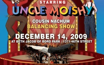CHANUKAH CIRCUS starring Uncle Moishy