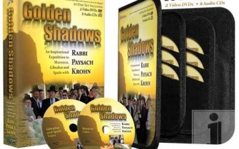 GOLDEN SHADOWS: An Inspirational Expedition to Morocco, Gibraltar and Spain with Rabbi Paysach Krohn, 10 Disc set: Includes 2 Video DVDs and 8 Audio Cds
