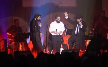 Benny Friedman & 8th Day UNPLUGGED – pix & review