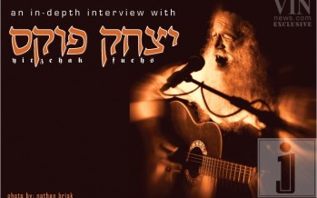 Jerusalem Music Legend Yitzchak Fuchs in Exclsuive Interview With VIN