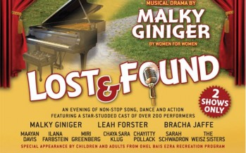 LOST & FOUND – A New Original Musical Drama by Malky Giniger