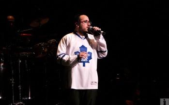 Lipa in a Toronto Maple Leafs Jersey