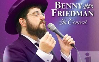 Benny Friedman – I Believe – Rehearsal Video