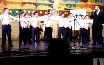 Shira Chadasha Boys' Choir – Pre-Purim Concert