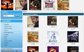 NEW Music Store Website
