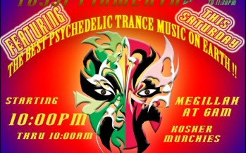 The Purim Party presents: The Never Ending Purim Trance Party
