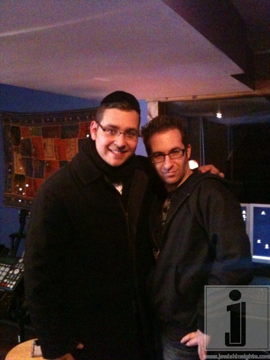Dovid Gabay working with Mo Kiss