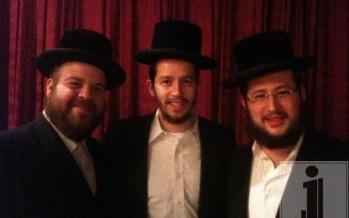 Gershy Moskowitz, Shloime Gertner & Shragi Gestetner