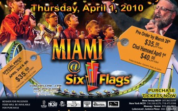 NCSY presents: Miami @ Six Flags