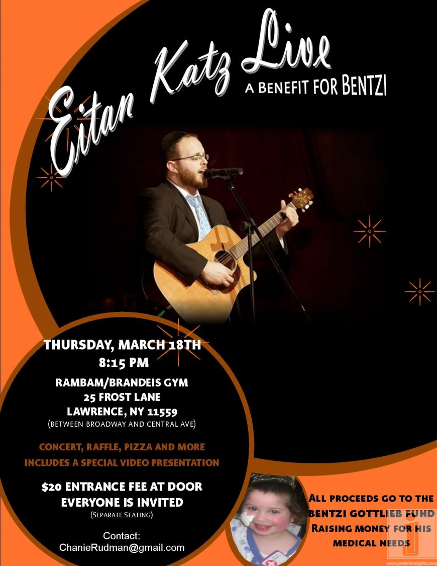 Eitan Katz Live – A Benefit for Bentzi