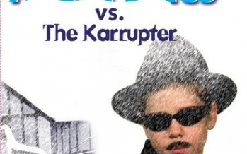 """Agent Emes Vs. The Karrupter"" cover revealed"