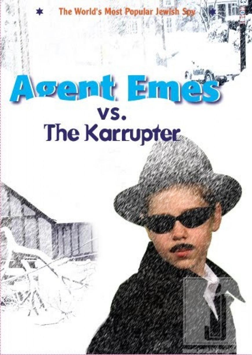 """Agent Emes Vs. The Karrupter"" cover revealed"
