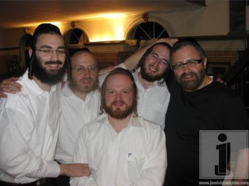 Beri Schapira, Chaim Elya Hartman, Joel Polatseck, Naftuly Weill & Yossi Green @ the composers workshop