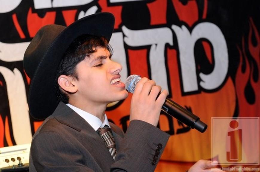 Meydad Tassah performing in Israel