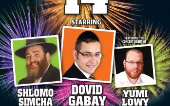 CHAZAK 14 : Shlomo Simcha, Dovid Gabay, Yumi Lowy
