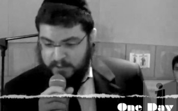 Benny Friedman Sings Matisyahu's One Day