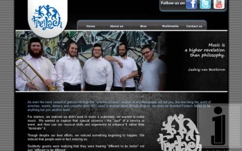 Freilach Band Officially Launches Full Website! BeFreilach.com