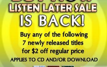 MostlyMusic.com Summer News and Sale!