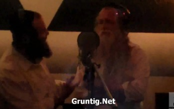 Yitzchak Fuchs and Shloime Taussig in Studio