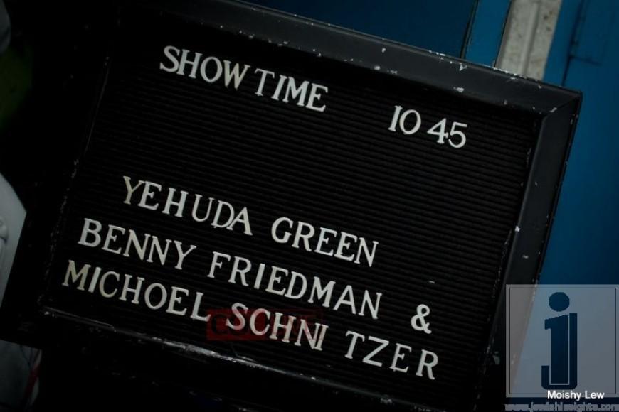 ColLive covers Kutchers show: Benny Friedman, Yehuda Green & Michoel Schnitzler