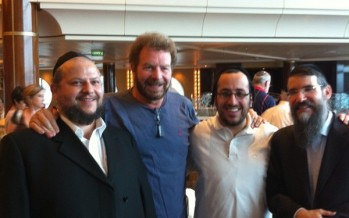 Chazan Helfgot, Dudu Fisher, Lipa & Avraham Fried on Kosherica Cruise