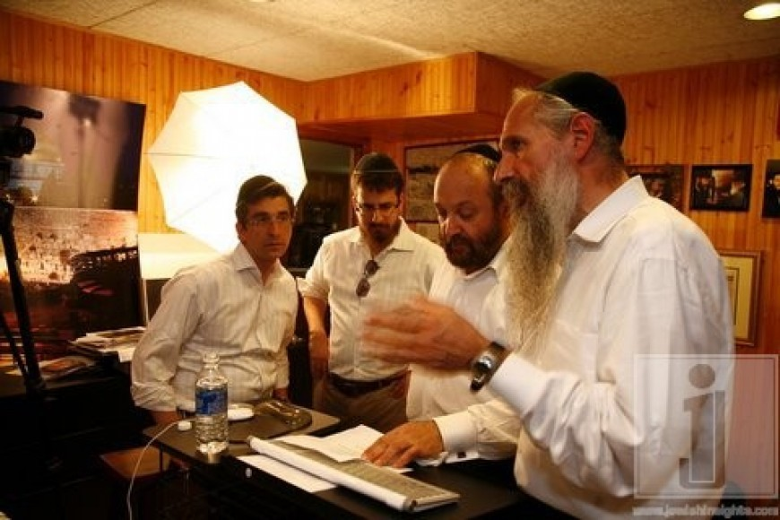 "Aaron Zutler, Danny Finkelman & Yehuda Green working on project ""Unity For Justice"""