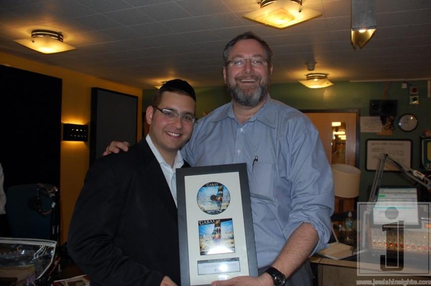Nachum Segal Celebrates the Release of 'Eretz Yisroel' with Dovid Gabay and Sruly Meyer