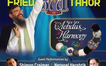 "OHEL Concert 5771 – ""Achdus in Harmony"""