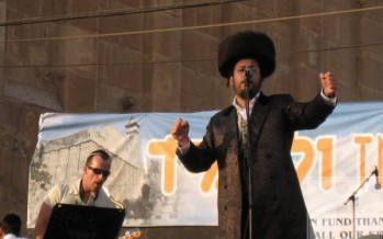 Lipa singing in Chevron by Maras Hamachpela