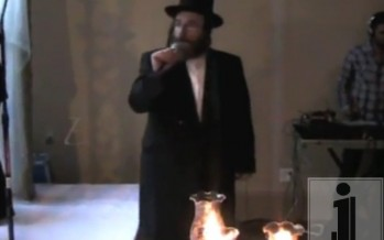 R' Isaac Hoenig Sings A Chuppa With EvanAl