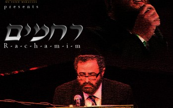 """""""Miracles"""" Song by RCCS now in Yiddish:  Rachamim, by Shloime Daskal"""