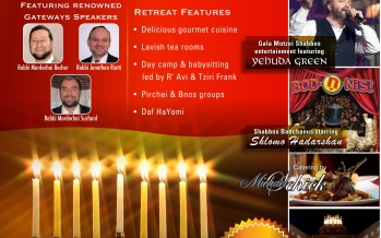 Gateways Chanuka Retreat