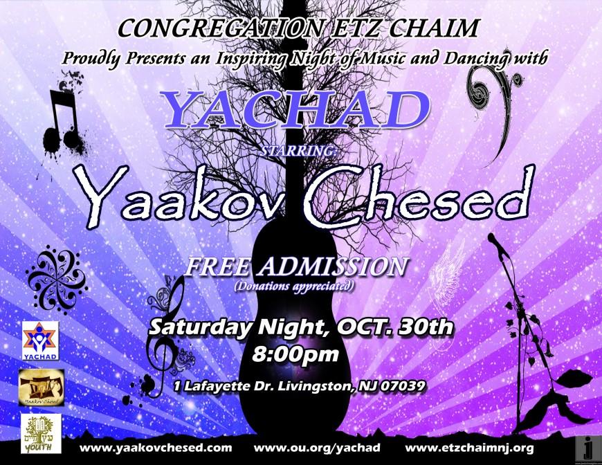 Yachad Concert Starring Yaakov Chesed