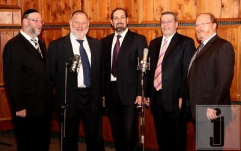 Yoivel celebrates Sha'alvim meeting with Mona's New Song