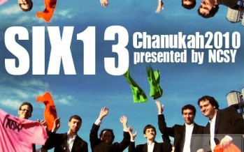 JI EXCLUSIVE! I Light It – NCSY Chanukah Musical Remix 2010 (Music by Six13)