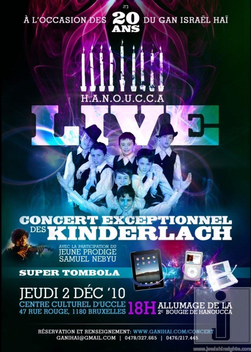 Kinderlach European tour
