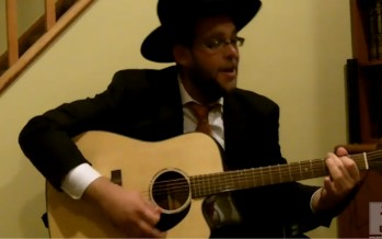 "Rabbi Simcha Sussman singing Shlesheles's ""Meheira"""