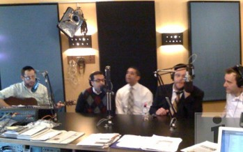 Nachum Segal Hosts Shalsheles Live at JM in the AM