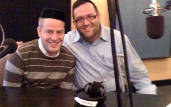 Nachum Segal Celebrates YBC 5, 'Chanukah' with Eli Gerstner and Yossi Newman