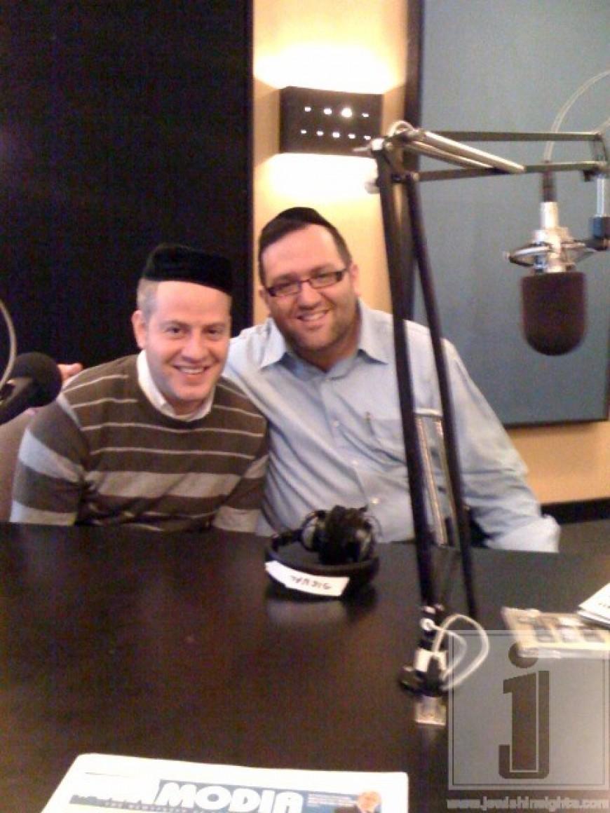 Nachum Segal Celebrates YBC 5, 'Chanukah' with Eli Gerstner and Yossi Newman