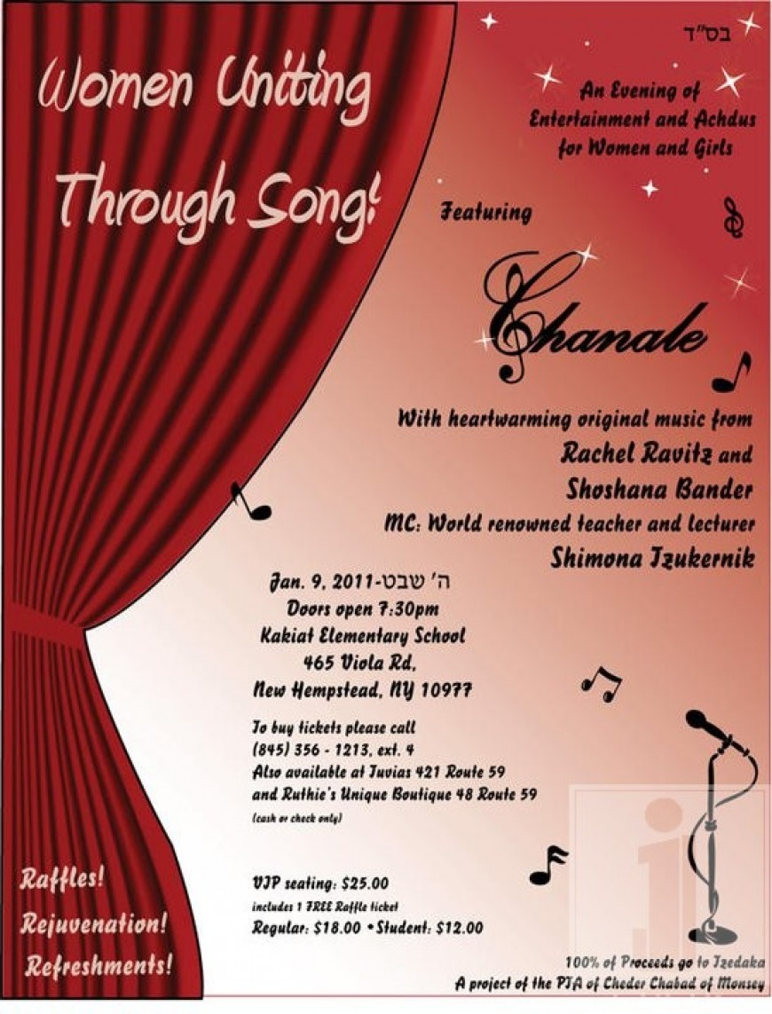 Women Uniting Through Song! featuring CHANALE