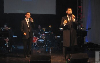 Benny Friedman & Yitzy Spinner Sing in Cleveland for Segula